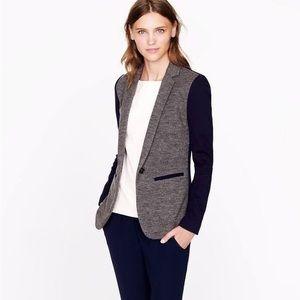 Wool color block J. Crew blazer